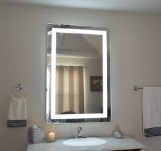 bright and modern lighted bathroom vanity mirror light up mirrors