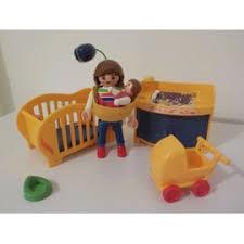 playmobil chambre bébé playmobil 3207 maman et chambre de bébé achat et vente
