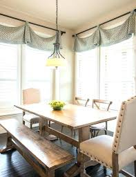 Window Treatments For Dining Rooms Traditional