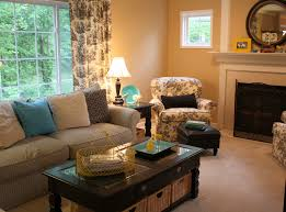 How I Furnished My Family Room on a Tight Bud Hooked on Houses