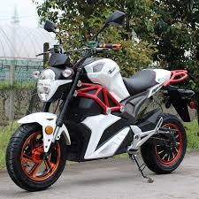 2000W Brushless 72V Electric Motorcycle SRT 2000E