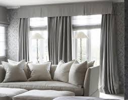 traditional window valance gray living room design ideas home
