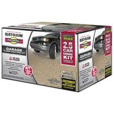 Rustoleum Garage Floor Kit Colors by Rust Oleum Kit Interior Gloss Gray Water Base Paint And Primer In