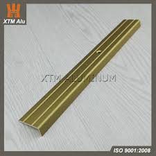 Tile Stair Nosing Trim by Gold Silver Color Anodized Aluminium Stair Nosing Tile Trim