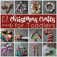 12 Easy Christmas Crafts For Toddlers And Preschoolers