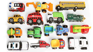 100 Toy Cars And Trucks Learning Vehicles Names And Sounds For Kids With Toys And