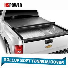 100 Truck Bed Covers Roll Up Amazoncom HS Power Black Tonneau Cover Soft 2004