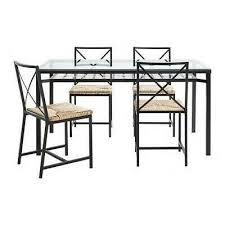 ikea granas esstisch mit vier stühlen und 4 stuhl polster