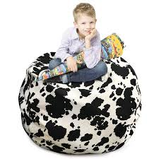 Amazon.com: CALA LIFE Bean Bag Storage Chair,Comfy Chair Cover ... Amazoncom Jaxx Nimbus Spandex Bean Bag Chair For Kids Fniture Creative Qt Stuffed Animal Storage Large Beanbag Chairs Stockists Best For Online Purchase Snorlax Sizes Pink Unique Your Residence Inspiration Childrens Bean Bag Chairs Ikea Empriendoclub Sofa Sack Plush Ultra Soft Memory Posh Stuffable Ultimate Giant Foam