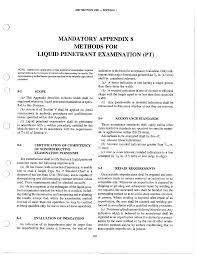 2007 ASME VIII Div 1 Appendix 7 Methods for Liquid Penetrant