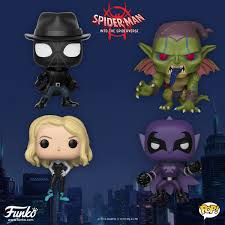 The Blot Says SpiderMan Into The SpiderVerse Pop Series By