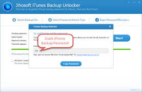 How to Crack Password Protected iPhone Backup