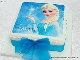 Girls Cakes Disney Frozen Elsa Image Cake