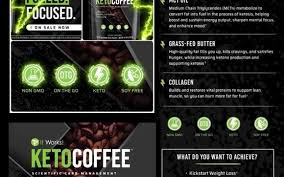It Works Keto CoffeeTM Is An Instant Coffee With Grass Fed Butter And Medium Chain Triglycerides MCTs To Help Increase Your Bodys Ketone Production