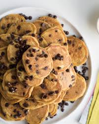 Pumpkin Cake Mix Pancakes by One Bowl Pumpkin Chocolate Chip Mini Pancakes I Am A Food Blog I
