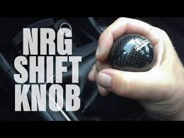 the Evo Diary ep 8 NRG Shift Knob Install
