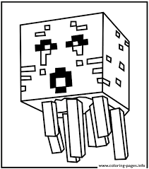 Minecraft Water Coloring Pages Print Download 527 Prints