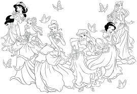 Princess Sofia Coloring Pages Pdf Cartoons Printable Princesses Games Cinderella Gahe Full Size