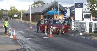11 Best Bollards Ballards Crash Vehicles Damaged By Rising Bollards At Newbury Racecourse