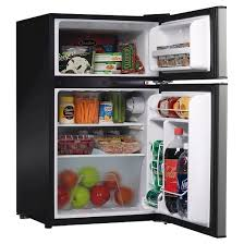 Whirlpool 3 1cu ft Mini Refrigerator Stainless Steel BCD 88V