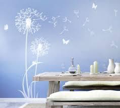 details zu wandtattoo pusteblume flugsamen schmetterlinge weiß esszimmer schlafzimmer w306f