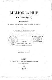 bureau de l education catholique bibliographie catholique revue critique des ouvrages de religion