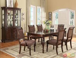 Ortanique Round Glass Dining Room Set by Traditional Dining Room Set Home Design