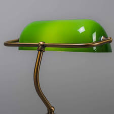 Green Bankers Lamp History by Bankers Lamp Vintage Brass And Marble Lamp Solid Brass Bankers