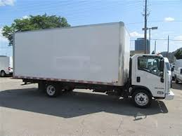 100 20 Ft Box Truck Used 17 Isuzu NPR HD GAS WITH FT ALUMINUM BOX For Sale In