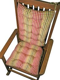 Buy Rocking Chair Cushions - Sally Rose Pink Green Plaid ... Bargain Bin Rocking Chair Seat Cushion Size Xl Assorted Nonreturnable Senarai Harga Cotton Autumn How To Choose The Best Set Home Decor Appealing Cushions Inspiration As Ding J16 Rocking Chair Seat Cushion In Luxury Leather 2018 Chairs Orleans Avocado Green Orleansrkrcush W Ties Granite Natural Solid Color Jumbo Xxl Extralarge Tufted Reversible Made Usa Gripper Polar Chenille Sand Fniture Dazzling Design Of Sets For Glider Rocker
