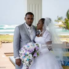 Tobago West Indies Wedding At Resort Hotel On Atlantic Coast Stock Photo
