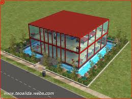 100 Glass Floors In Houses Modern House With Full Glass Walls The Sims Fan Page