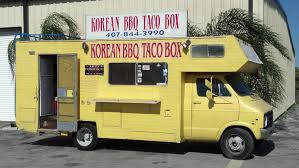 100 Korean Bbq Food Truck Tastes Of Orlando BBQ Taco Box