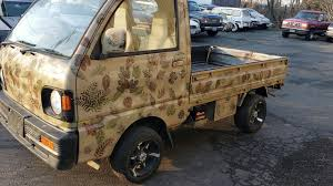 100 Micro Truck This Camoflaged 4x4 Mitsubishi Is Almost Invisible YouTube