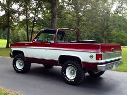 100 Blazer Truck 1975 Chevy K5 The Final Year Of The Full Convertible