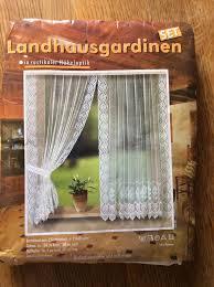 landhaus gardinen set gardine landhaus stil original verpackt