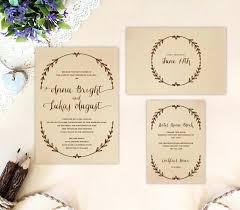 Rustic Wedding Invitations Cheap Australia