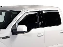 Side Window Deflectors - Chrome, 4-Piece Set, SuperCrew | The ... Egr 0713 Chevy Silverado Gmc Sierra Front Window Visors Guards In Best Bug Deflector And Window Visors Ford F150 Forum Aurora Truck Supplies Stampede Tapeonz Vent Fast Free Shipping For 7391 Chevygmc Truck Smoke Tint Window Visorwind Deflector Hdware Inchannel Smoke Weathertech Deflector Wind Visor Ships Avs Color Match Low Profile Deflectors Oem Style Rain Avs Install 2003 2004 2005 2006 2007 Dodge 2500 Shade Fits 1417 Chevrolet 1500 Putco Element Sharptruckcom