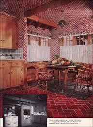 One Of The Design Trends Early 1950s Was Wallpaper Not Only Used Abundantly Throughout House But Ceiling Treatments Were Common