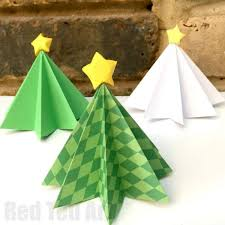 Christmas Tree Watering Device Homemade by Easy Origami Christmas Tree Diy Red Ted Art U0027s Blog