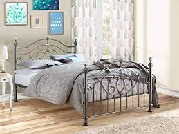 happy betten metall moderne schlafzimmer möbel