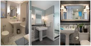 Half Bathroom Ideas With Pedestal Sink by Small Bathroom Redo Inspiration Obsessed With Pedestal Sinks