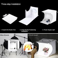 104 Studio Tent Agora Kamera Foldable Portable Photo Mini Light Box Home Photography Led Lights Super Bright Backgound Lightbox