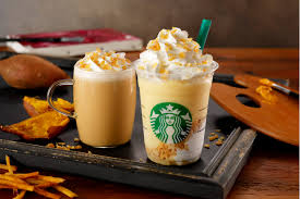 Earlier This Month Starbucks Japan Released Caramelly Pear Frappuccino And Of Course We Had To Rush Out Try It Straight Away