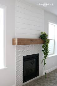 Easy DIY Wood Mantel - Remington Avenue Reclaimed Fireplace Mantels Fire Antique Near Me Reuse Old Mantle Wood Surround Cpmpublishingcom Barton Builders For A Rustic Or Look Best 25 Wood Mantle Ideas On Pinterest Rustic Mantelsrustic Fireplace Mantelrustic Log The Best