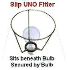 Lamp Shade Spider Harp Fitter by Slip Uno Fitting Lamp Shades Euro Fitter Slip Uno Harp Lamp Shade