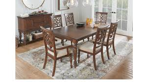 Sofia Vergara Dining Room Furniture by Balboa Heights Cherry 5 Pc Rectangle Dining Room Traditional