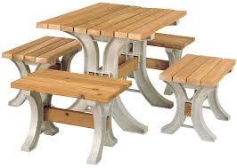 amazon com hopkins anysize table sand outdoor benches patio