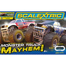 100 Monster Truck Track Set Scalextric Mayhem Toys TheHutcom