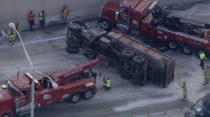 Overturned Dump Truck Blocks All Northbound Lanes Of I-95 In... A View Of An Overturned Truck On Highway In Accident Stock Traffic Moving Again After Overturned 18wheeler Dumps Trash On Truck Outside Of Belvedere Shuts Down Sthbound Rt 141 Us 171 Minor Injuries Blocks 285 Lanes Wsbtv At Millport New Caan Advtiser Drawing Machine Photo Image Road Brutal Winds Overturn Trucks York Bridge Abc13com Dump Blocks All Northbound Lanes I95 In Rear Wheels Skidded Royalty Free